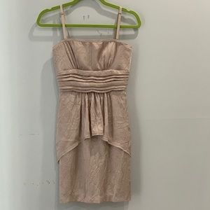 BCBCMaxAzra texture jacquard dress size 0